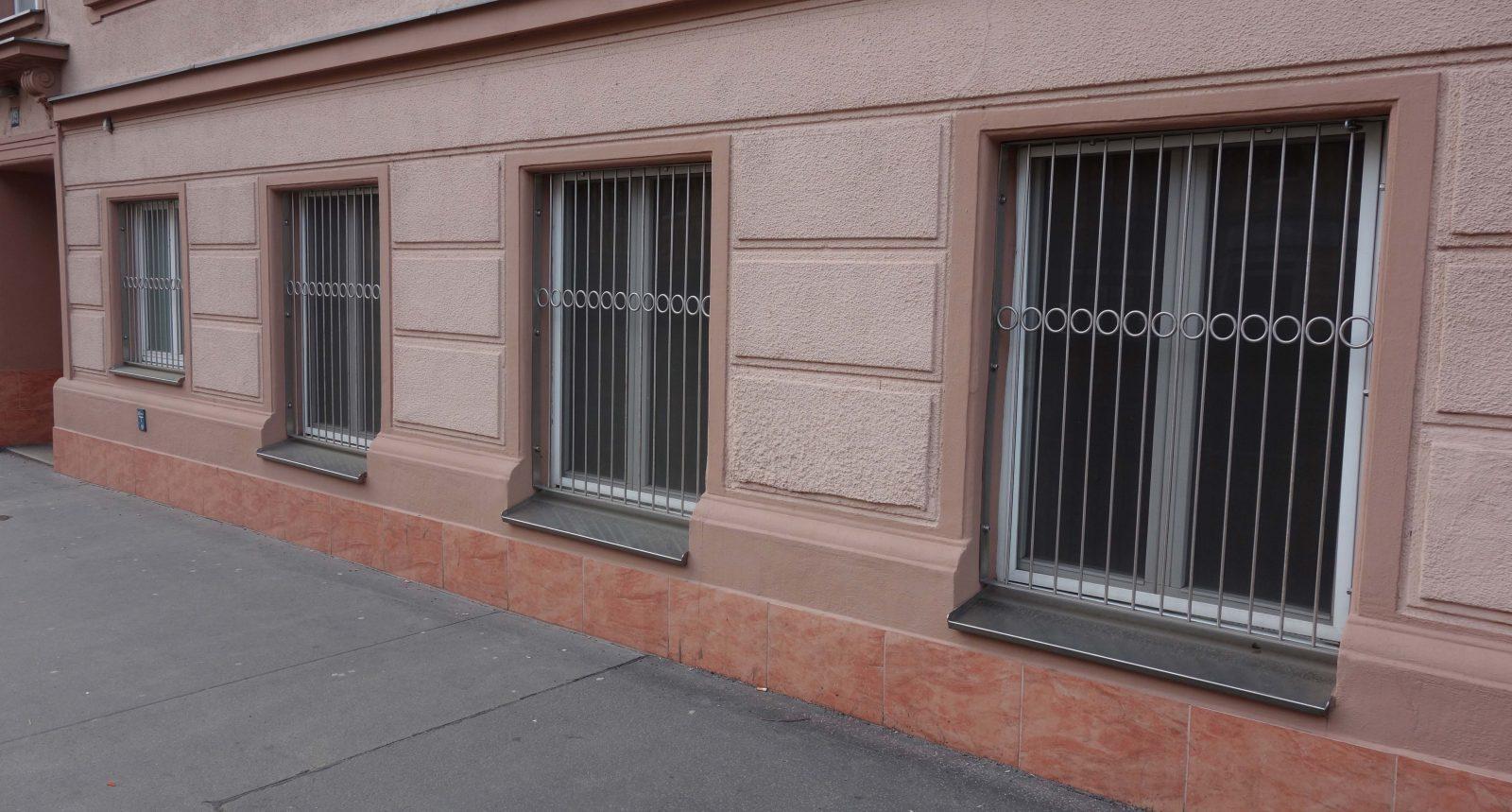 Fenstergitter Edelstahl